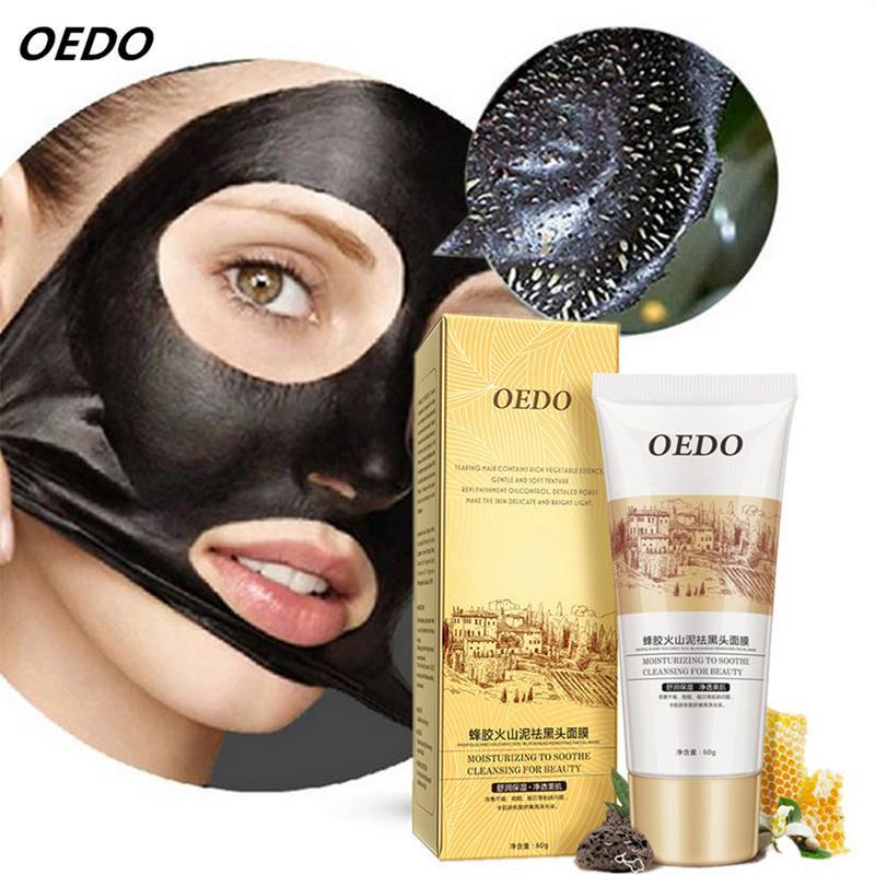 Mascarilla Facial volcánica para eliminar acné, ácaros y espinillas, tratamiento cuidado Facial, crema blanqueadora, cuidado de la piel, hidratante 4