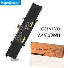 KingSener C21N1309 Аккумулятор для ноутбука Asus VivoBook S301LA S301LP Q301L C21PQ2H 0B200-00580100M планшет 7,4 V 38Wh