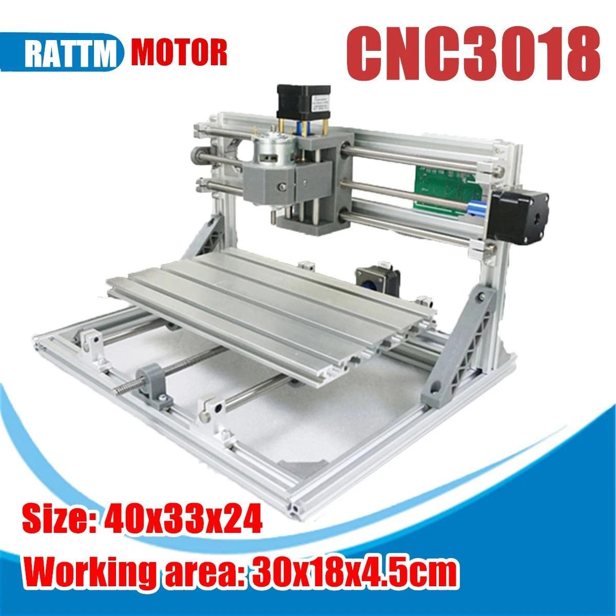 3018 3 Eksen Mini Diy Cnc Router Standart Mili Motoru Ahşap Oyma Makinesi Freze Gravür Mini Cnc Router Lazer Makinesi Ahşap Yönlendiriciler Aliexpress