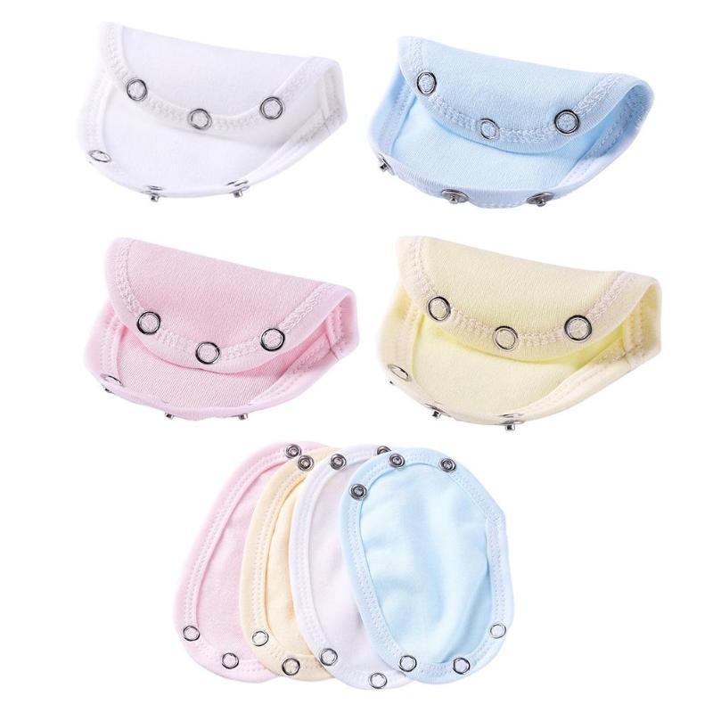 1PC Soft Feeling Baby Boys Girls Kids Romper Partner Super Utility Jumpsuit Diaper Romper Lengthen Extend Film 5 Colors
