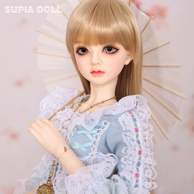 OUENEIFS  1/3 BJD SD Supia Hael Dolls Resin Figures Model Baby Girls Boys High Quality Toys Anime Gift For Birthday Or Christmas