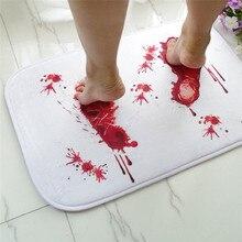 Quality doormat Blood novelty Bathroom Bath floor Mat Europe style Carpet Rug Water Absorption Non-slip 40*60cm doormats