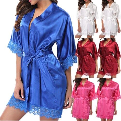 Sexy Frauen Spitze Kleid Bad Robe Kleid Babydoll Nachtwäsche Nachtwäsche erotische frauen pyjamas sexy kostüme