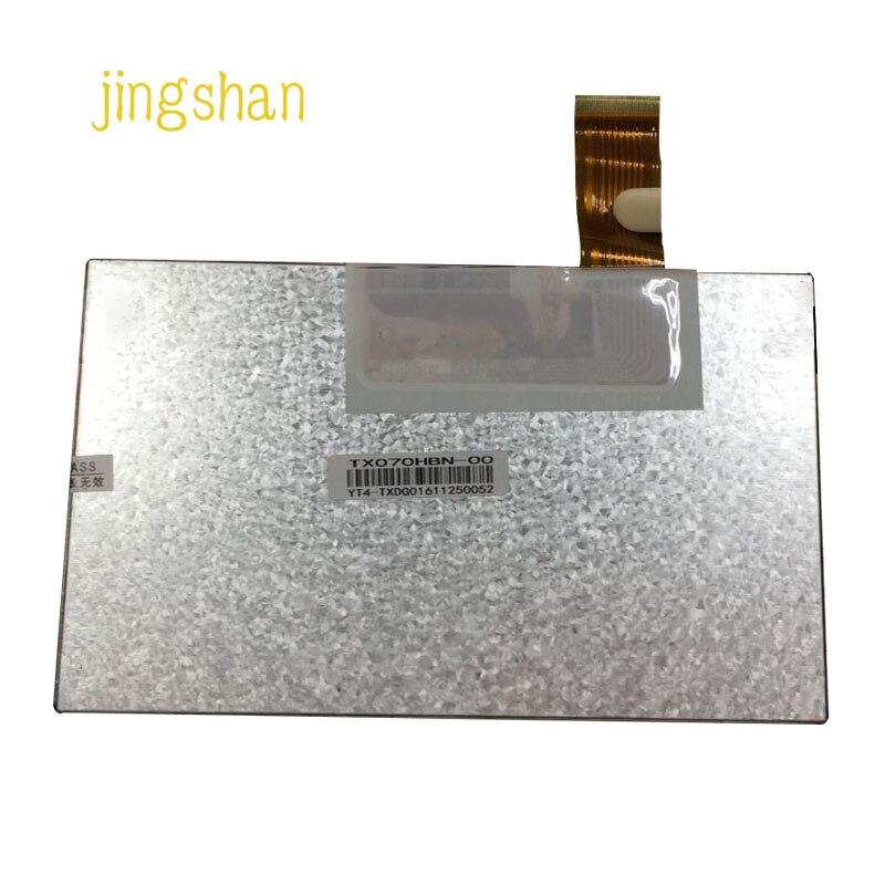 Jingshan7 pulgadas TFT LCD LED LCM pantalla TX070HBN 721CT10255 vehiclev pantalla de carga TX080BBF V080WSH