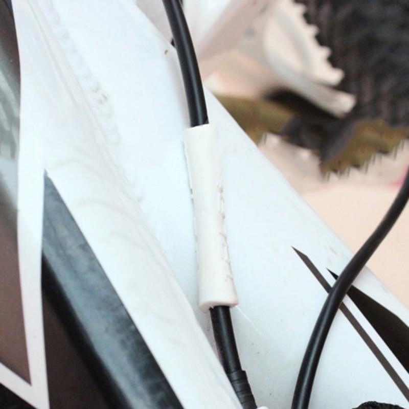 10pcs bici freno esterno ingranaggio cavo avvolgere protezione copertura bicicletta freno linea cambio cavo manicotto protettivo accessori ciclismo parte