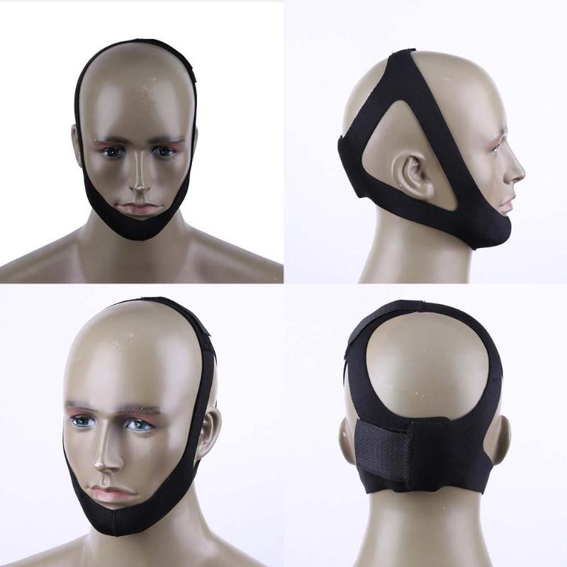 1pc máscara de sono anti-ronco cabeça parar ronco rolha queixo mandíbula ressonar resistência para mulher homem dormir ferramentas