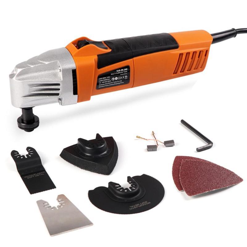 Kit de herramientas oscilantes multifunción renovador eléctrico para carpintería, accesorios de sierra, pala oscilante, sierra múltiple