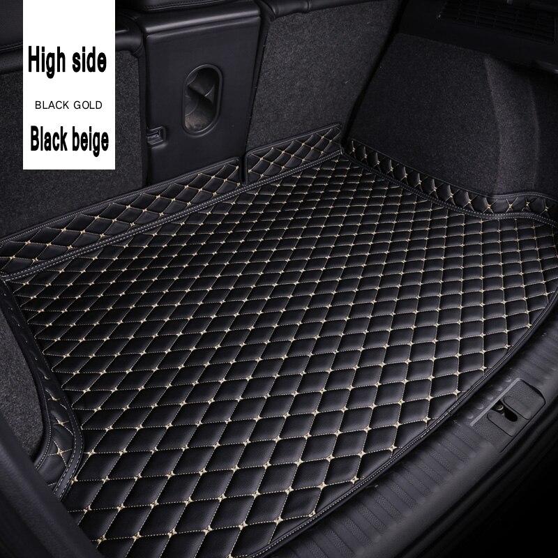 ZHAOYANHUA, personalización especial, esteras para maletero de coche para Honda Civic CRV City y HRV Vezel Crosstour Fit, revestimiento de alfombra de cuero antideslizante