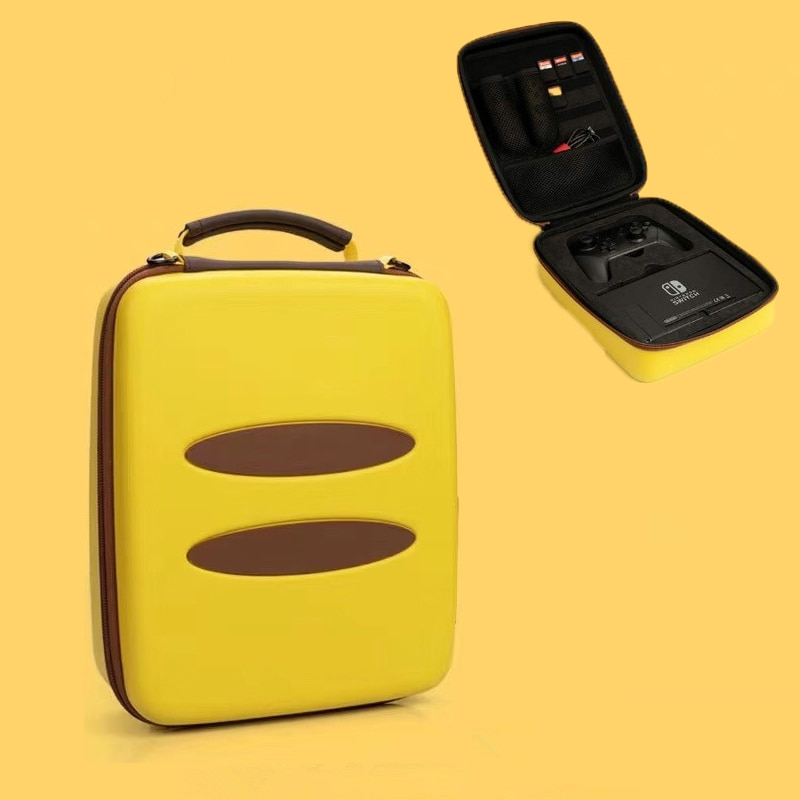 Чехол-книжка для переноски, аксессуары, большая вместительность, EVA, переносная Жесткая Сумка для путешествий, сумка для хранения, чехол для ...