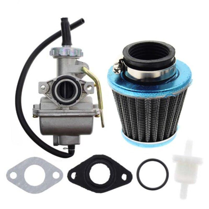 Kit de filtro de combustible carburador PZ20 para 49/70/90/100/110/125cc ATV Quad Dirt bicicleta