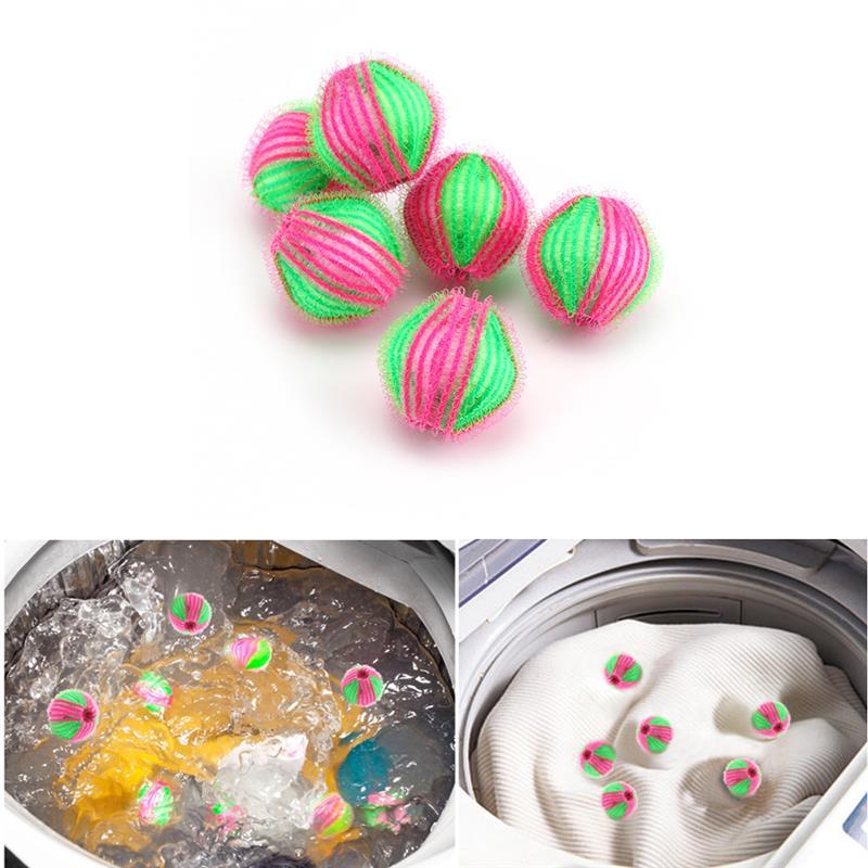 LemonBest 6 шт. стиральная машина для чистки шара хватает волшебный удаления волос