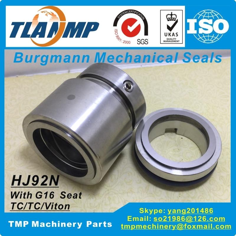 HJ92N-32 , HJ92N/32-G16 TLANMP Burgmann Mechanische Dichtungen Mit G16 Staionary Sitz (Welle Größe 32mm) material TC/TC/V