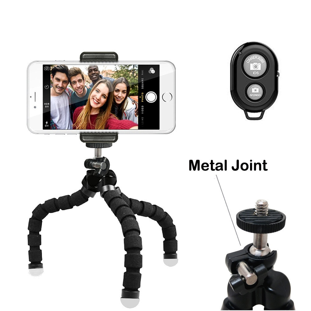 DUSZAKE Polvo Gorillapod Mini Tripé para a Câmera Do Telefone Mini Tripé Flexível para o Telefone Móvel Tripé Para iPhone Samsung Xiaomi