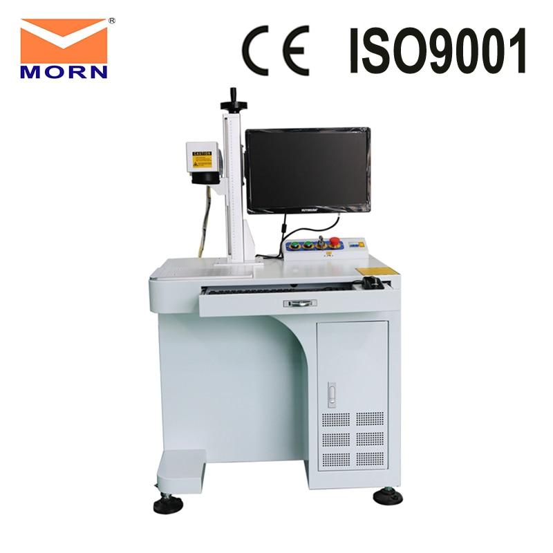 Máquina de marcado láser cnc de fibra de Metal, grabador de acero inoxidable con generador de 20 W, fabricación gereedschap