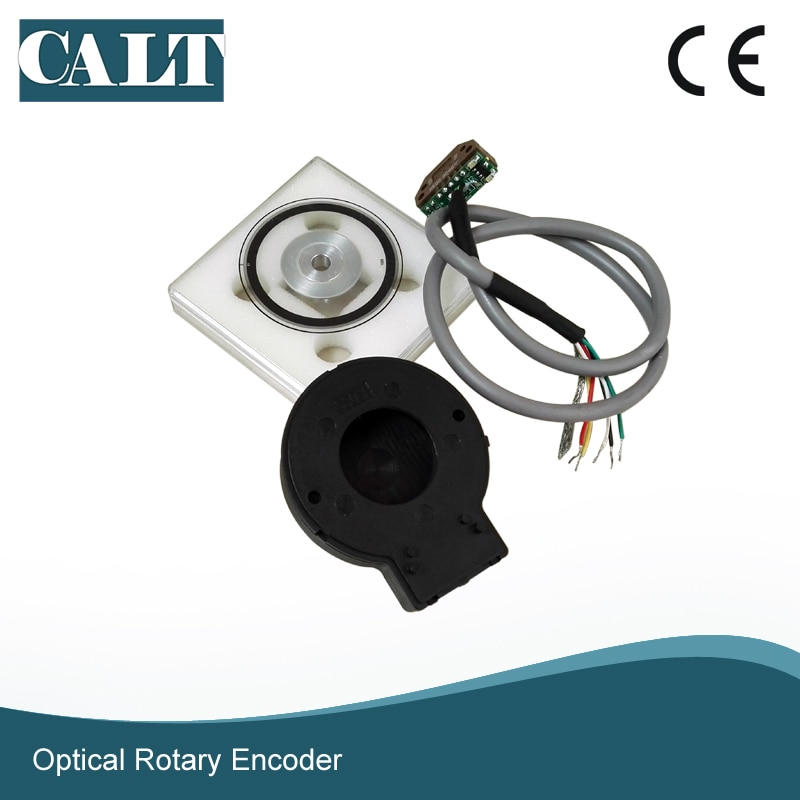 CALT 56mm codificador rotatorio incremental módulo Kit 12mm 15mm agujero hueco eje PD56 disco codificador óptico A B Fase Z