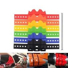 SPEEDWOW мотоцикл глушитель/круглый Овальный мото выхлопной протектор глушителя может покрыть подходит 100 мм-140 мм для KTM 950 1190 1050