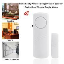 Alarme anti-cambrioleur sans fil fenêtre   Avec capteur magnétique, sécurité à domicile, système de sécurité plus long sans fil
