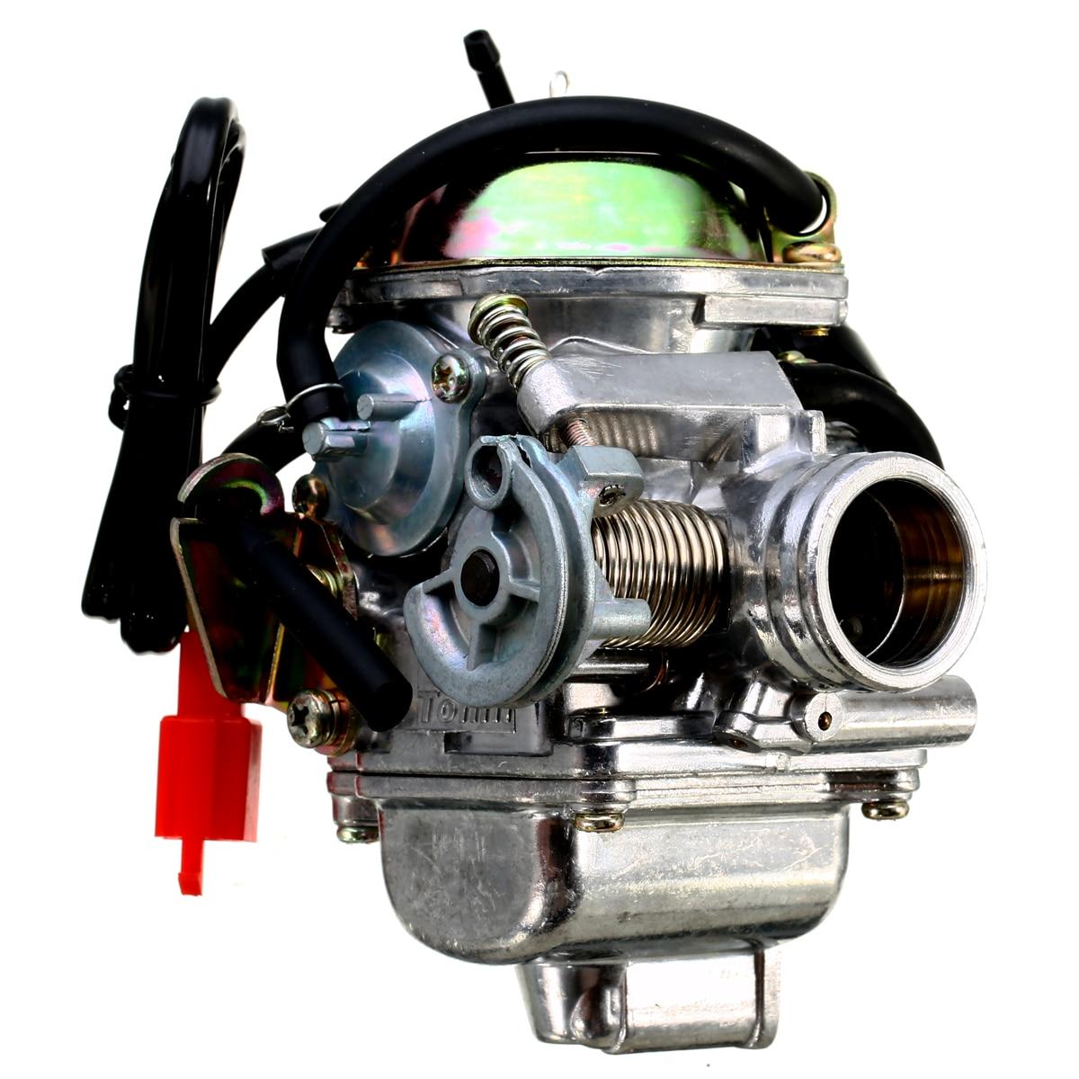 24 мм карбюратор мотоцикла Carb 4-тактный GY6 110/125/150cc Скутер мопед ATV картинг для Yamaha Suzuki Kawasaki