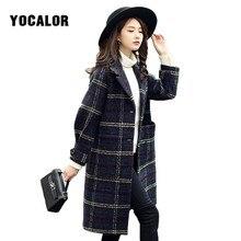 Mélange de laine pour Femme, Manteau coupe-vent, coupe-vent, Hiver, automne, Long Manteau, Parka