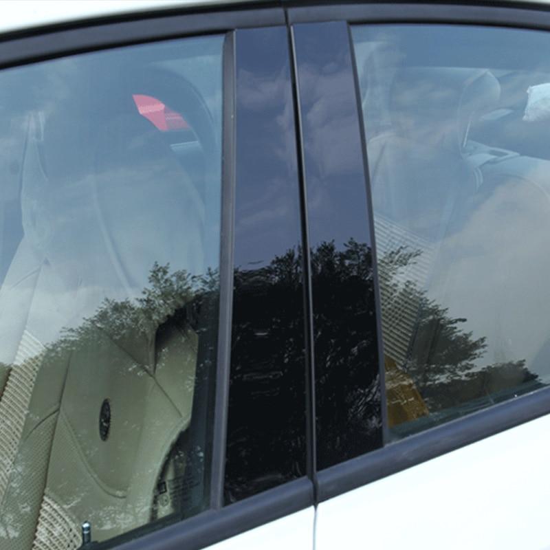 Car Window BC Pillar Center Trim Sticker Cover Decoration Accessories For Hyundai Toussaint  2015-2018 Pleasant 2008-2017