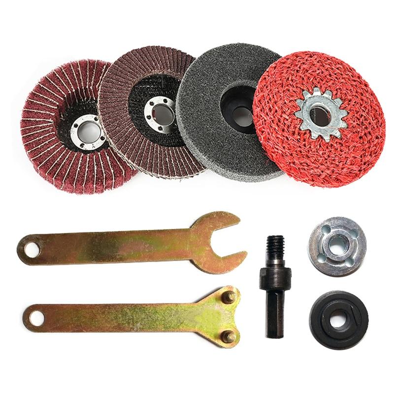 Sander Sanding Belt Adapter For 115/125 Electric Angle Grinder with M14 Thread Spindle For woodworking Metalworking Newset DIY