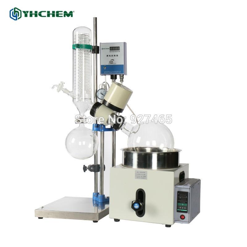 YHChem New Glass distillation machine RE501 5L Rotary Evaporator in Stock