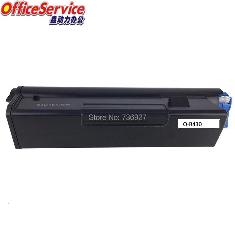B410 B430 Compatible cartucho de tóner para OKI B410 B420 B430 B440 MB460 MB470 MB480 impresora