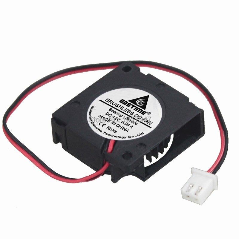Ventilador del radiador del enfriador del extractor de la CC del Lote 2 piezas 12V 30cm 3010 3cm 30x10mm 2 pines
