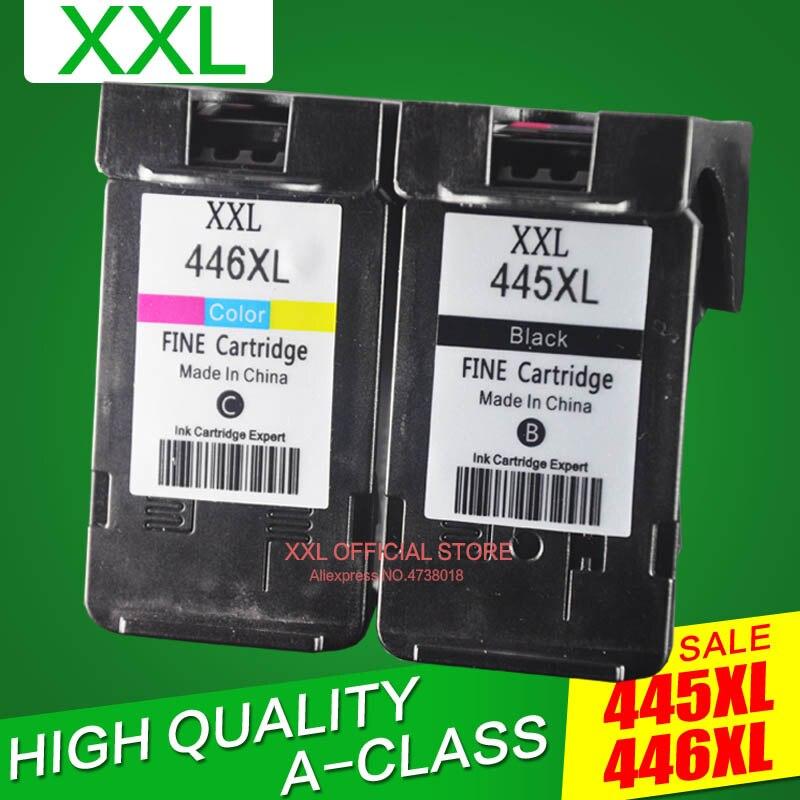 Cartucho de tinta para impressora de pixma, para canon mx494 ip2840 pixma, pg445, ip494 ip 2840