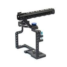Cage pour appareil photo reflex numérique avec poignée supérieure pour appareil photo Panasonic Lumix GH5 F20577