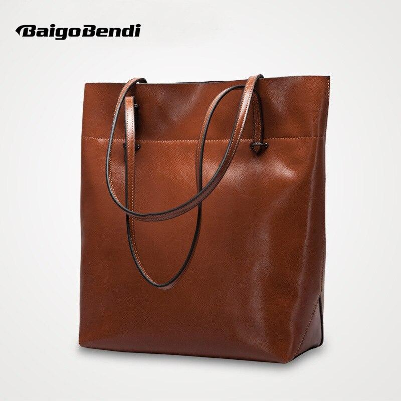 Рекомендую! Коровья спилок Большая вместительная сумка повседневная сумка женская мягкая сумка на плечо Женская Офисная сумка