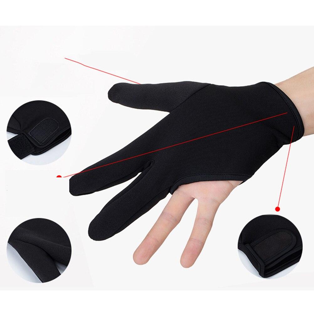 1 pçs luva insulative 3 dedos resistente ao calor luva do dedo ferramenta de cabeleireiro utensílio de cabelo para barbearia cozinha salão de beleza