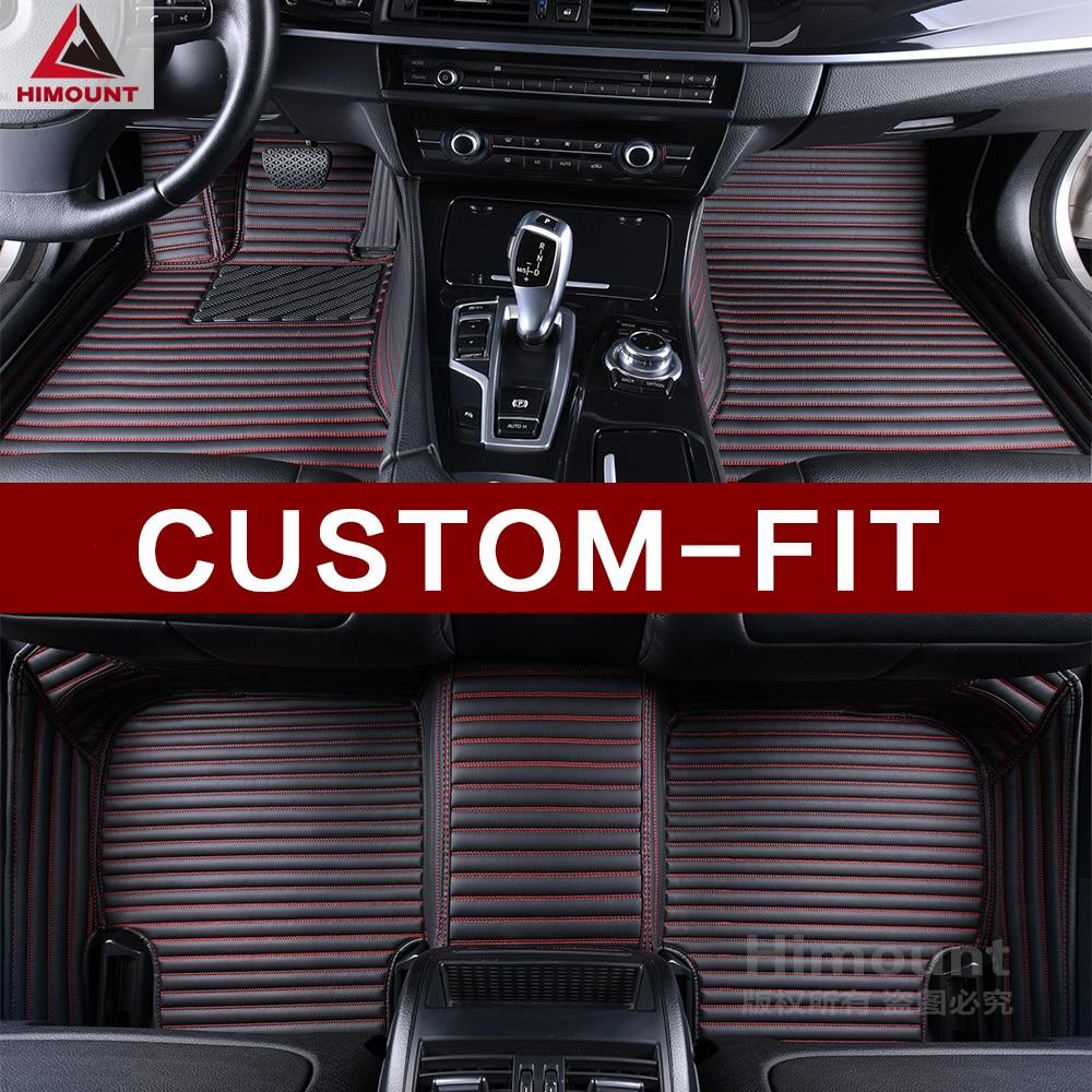 Alfombrillas de coche para Seat Ibiza Toledo LEON Exeo ST Alhambra 3D protector completo de lujo de alta calidad alfombras de cuero antideslizantes