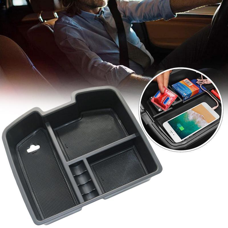 Tronco Central caja de almacenamiento de uso especial para Chevrolet GMC Serra asiento de almacenamiento servicio de caja apoyabrazos modificación