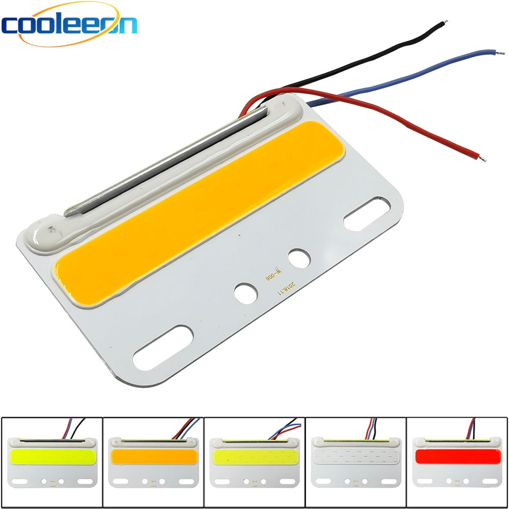 Lámpara de señal estroboscópica para coche y camión de 24 V, lámpara LED de Color azul, amarillo, rojo, verde, blanco, para iluminación de bombillas de decoración para coches de camión DC24V