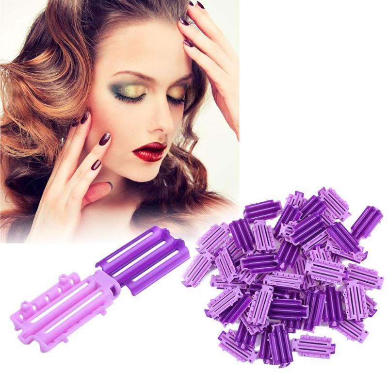 45 pçs/saco clipe de cabelo onda perm haste barras milho modelador de cabelo macio raízes perm diy modelador macio grampos rolos ferramentas estilo do cabelo