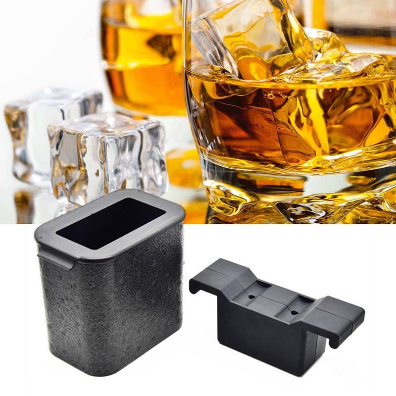 Cubitos de hielo de silicona para hacer cubitos de hielo cubo mágico Vodka enfriador cerveza vino Bar KTV Whisky soporte enfriador herramientas molde