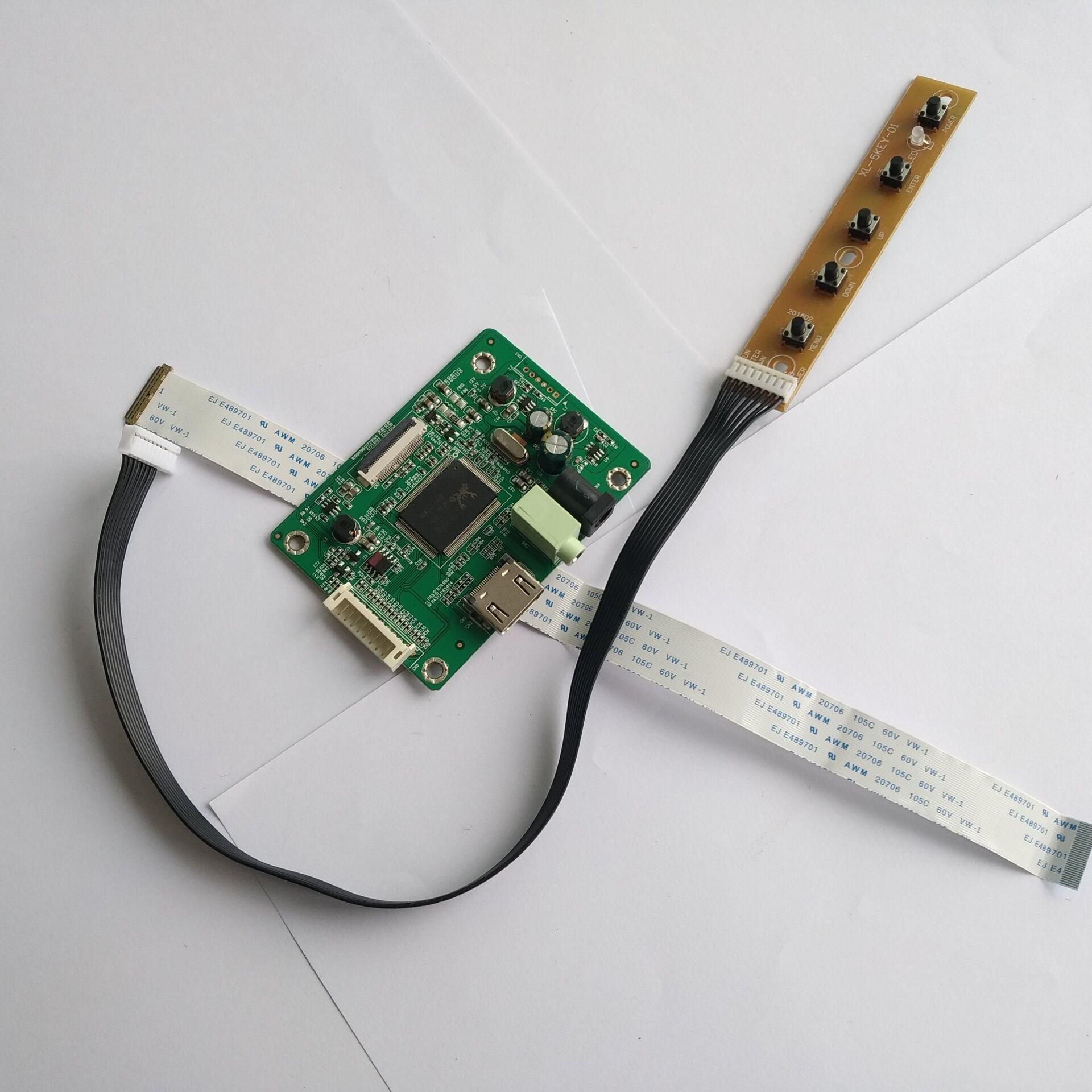 HDMI LCD LED EDP تحكم مجلس سائق DIY كابل ل LP133WH1-SPB1 1366X768 13.3