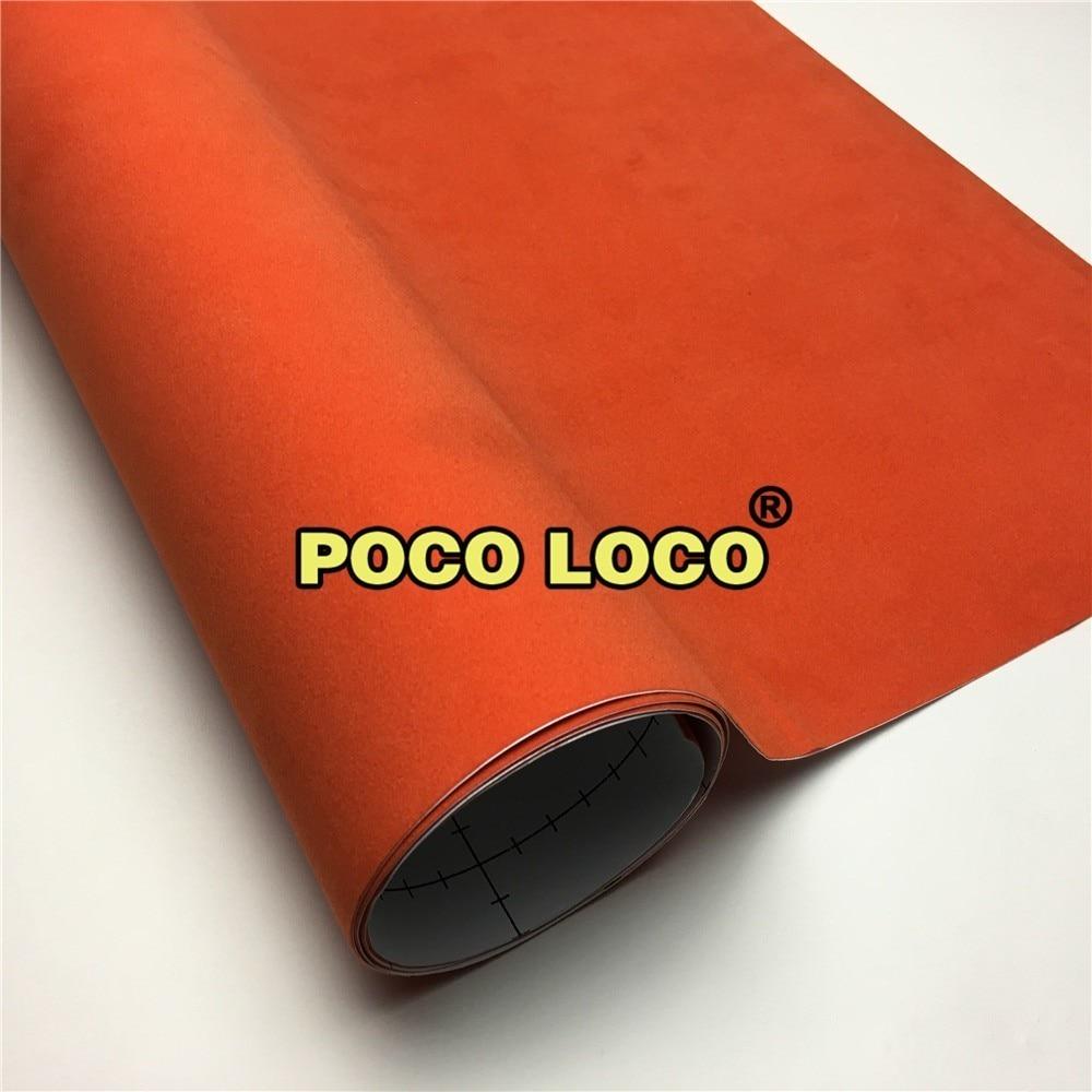 Tecido de veludo laranja carro vinil adesivos-carro decoração de interiores-móveis porta automóveis decoração de vinil-vinil envoltório adesivo carro