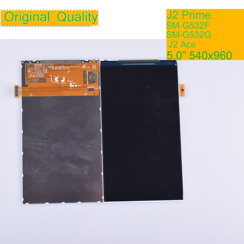 10 قطعة/الوحدة لسامسونج غالاكسي الكبرى رئيس زائد J2 رئيس G532 SM-G532F LCD شاشة عرض لوحة وحدة رصد J2 الآس G532F LCD