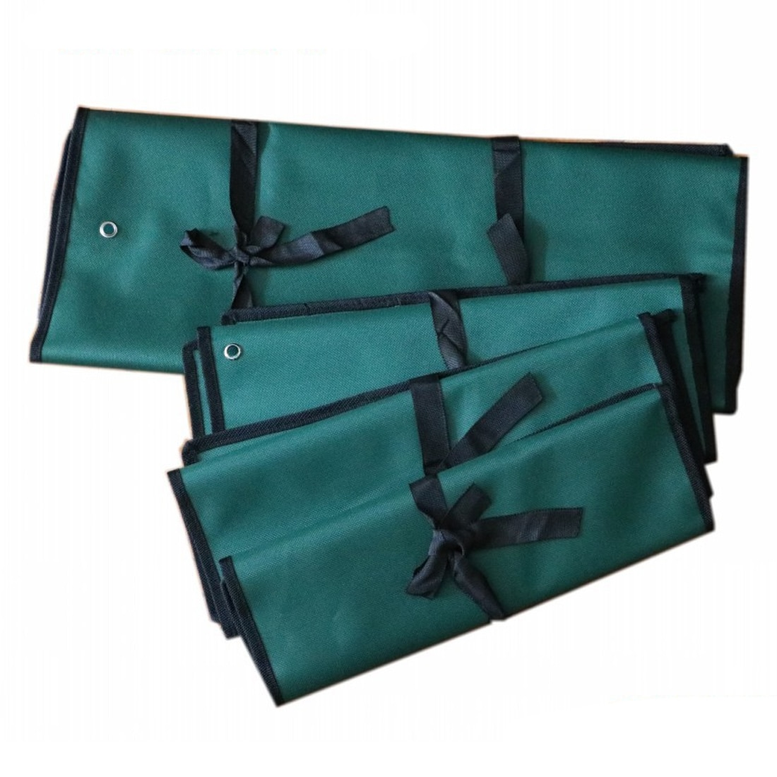 Spanner Wrench Roll Up Storage Organizer Bag Double thickening Bundled canvas tool bag Combination wrench bag недорого