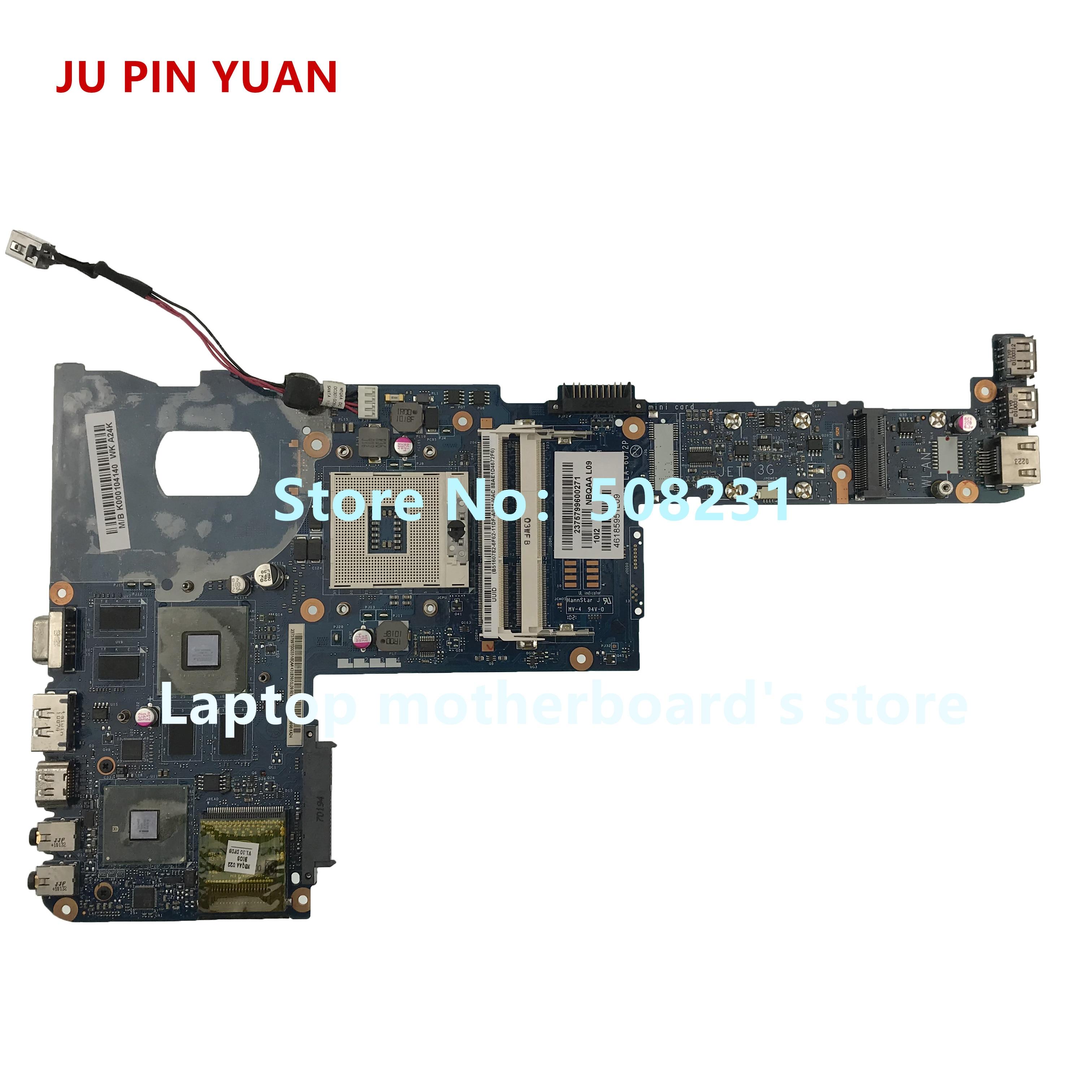 JU PIN YUAN K000104140 LA-6072P اللوحة الأم توشيبا الأقمار الصناعية M600 M645 دفتر اللوحة الأم اختبارها بشكل كامل