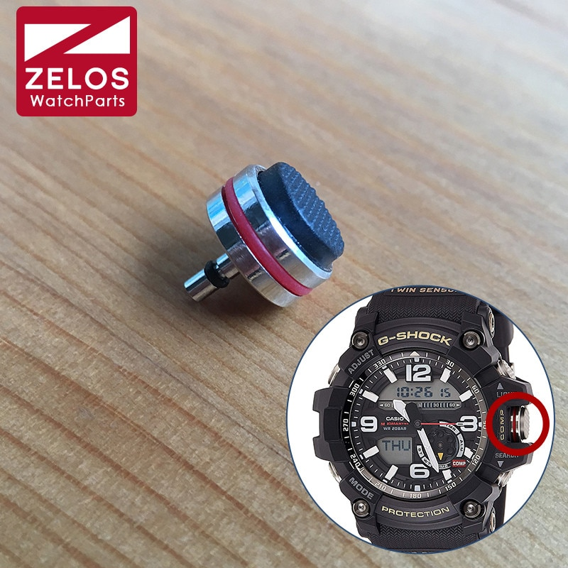 steel waterproof crown for CASIO G-Shock 56.2*55.3mm solar watch