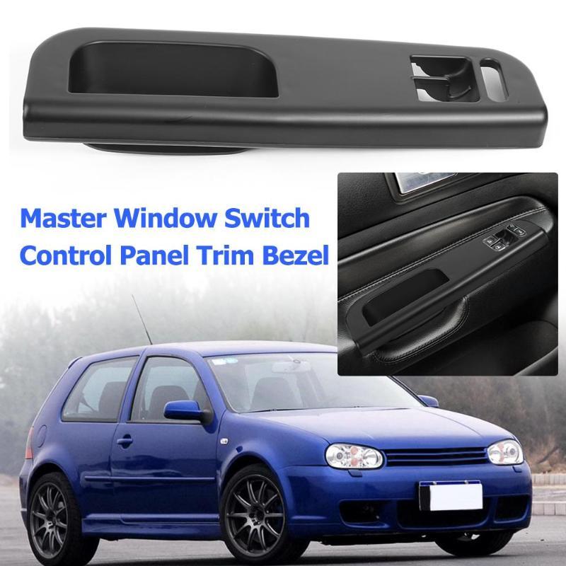 Interruptor de ventana principal Panel de Control bisel de ajuste 3B1867171D negro para Golf 4 Passat 1998-2005 2 manijas de puerta Interior