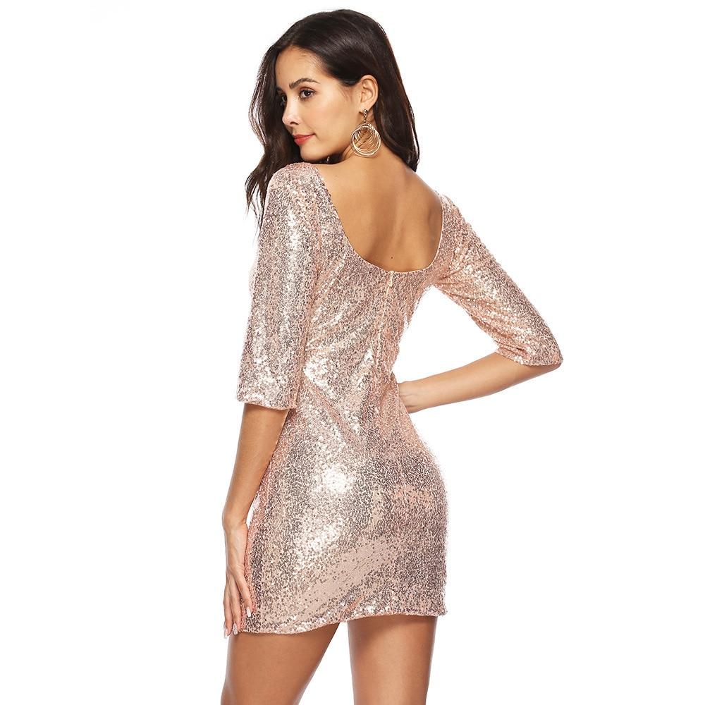 MUXU mode gold pailletten kleid sexy vestido kleider party jurken glitter backless bodycon kleider kurzen kleid freies shiping
