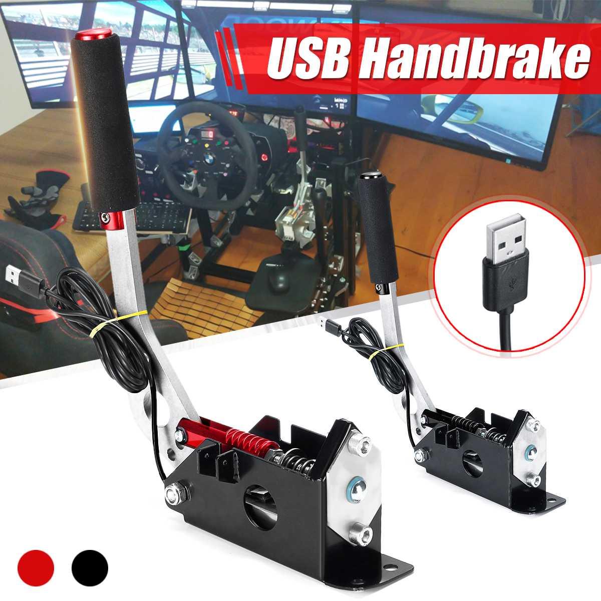 USB freno de mano para PC Windows Sim para juego de carreras para Logitech G25 G27 G29 T500 T300 FANATECOSW para EPA tierra RALLY