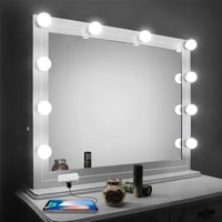 led bulb lamp for mirror makeup mirror lights kit hollywood style usb vanity lighting night light use for indoor