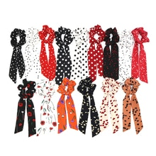Bande de cheveux en forme de nœud décoratif   Bandeau de cheveux, bande de cheveux, scrunies, nœud cheval, couleur unie, accessoires de cheveux pour filles