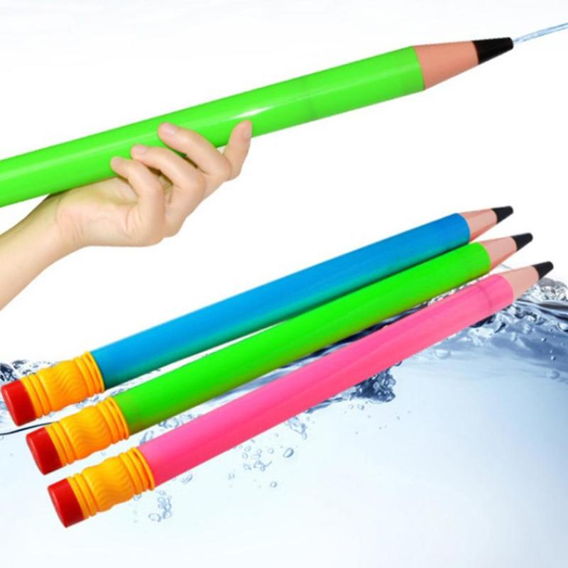 Verão crianças armas de água crianças praia piscina blasters plástico soakers aspersão brinquedos portátil ao ar livre água atirador