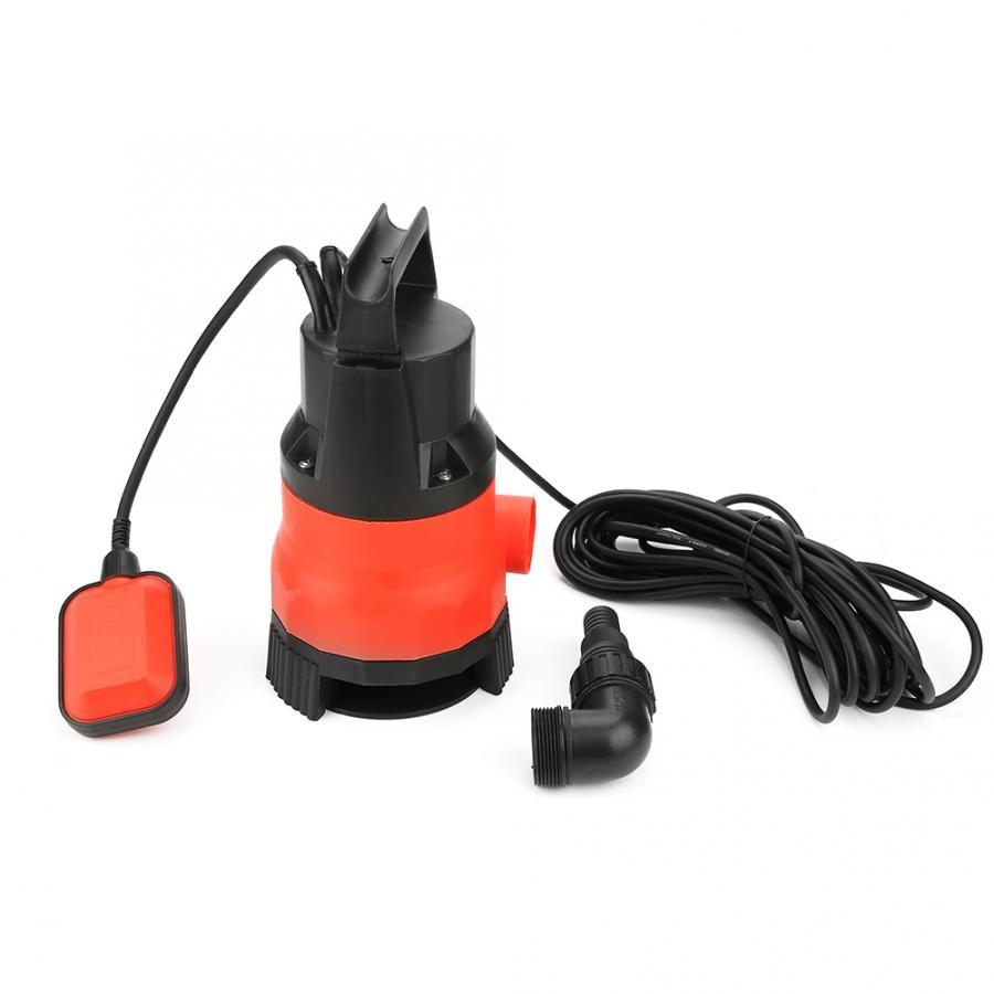 400 W Elektrische Tauch Pumpe für Sauber Schmutzig Flut Wasser EU Stecker 220 V Heben Duty Pumpe